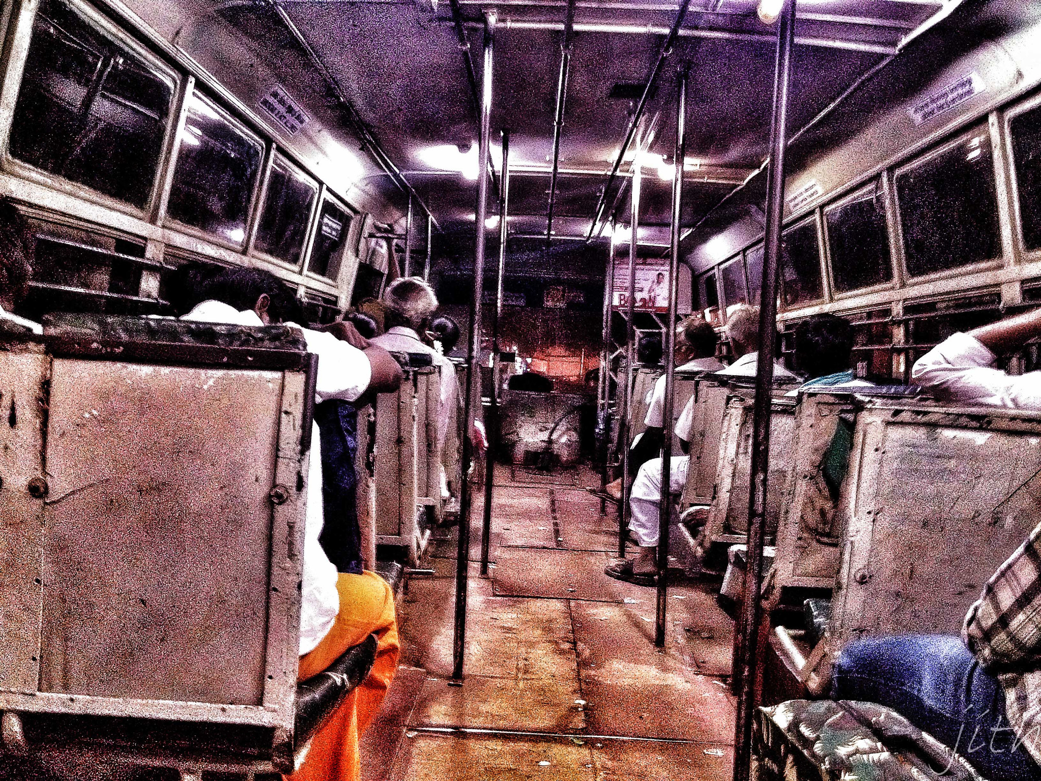 Photograph in town bus - iPhone 4s by inderjith gowthaman on 500px
