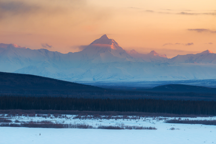 Alaska during sunset in the winter de srongkrod kuakoon en 500px.com