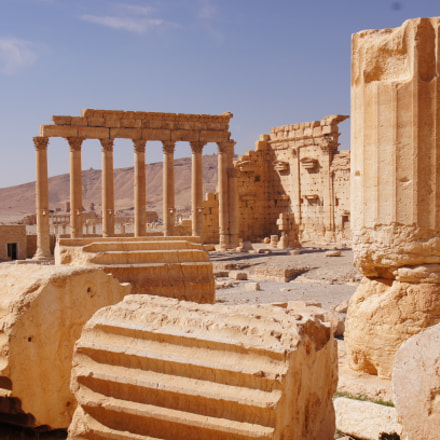Temple of Bel, Palmyra, Sony SLT-A55V, Sigma DC 18-125mm F4-5,6 D