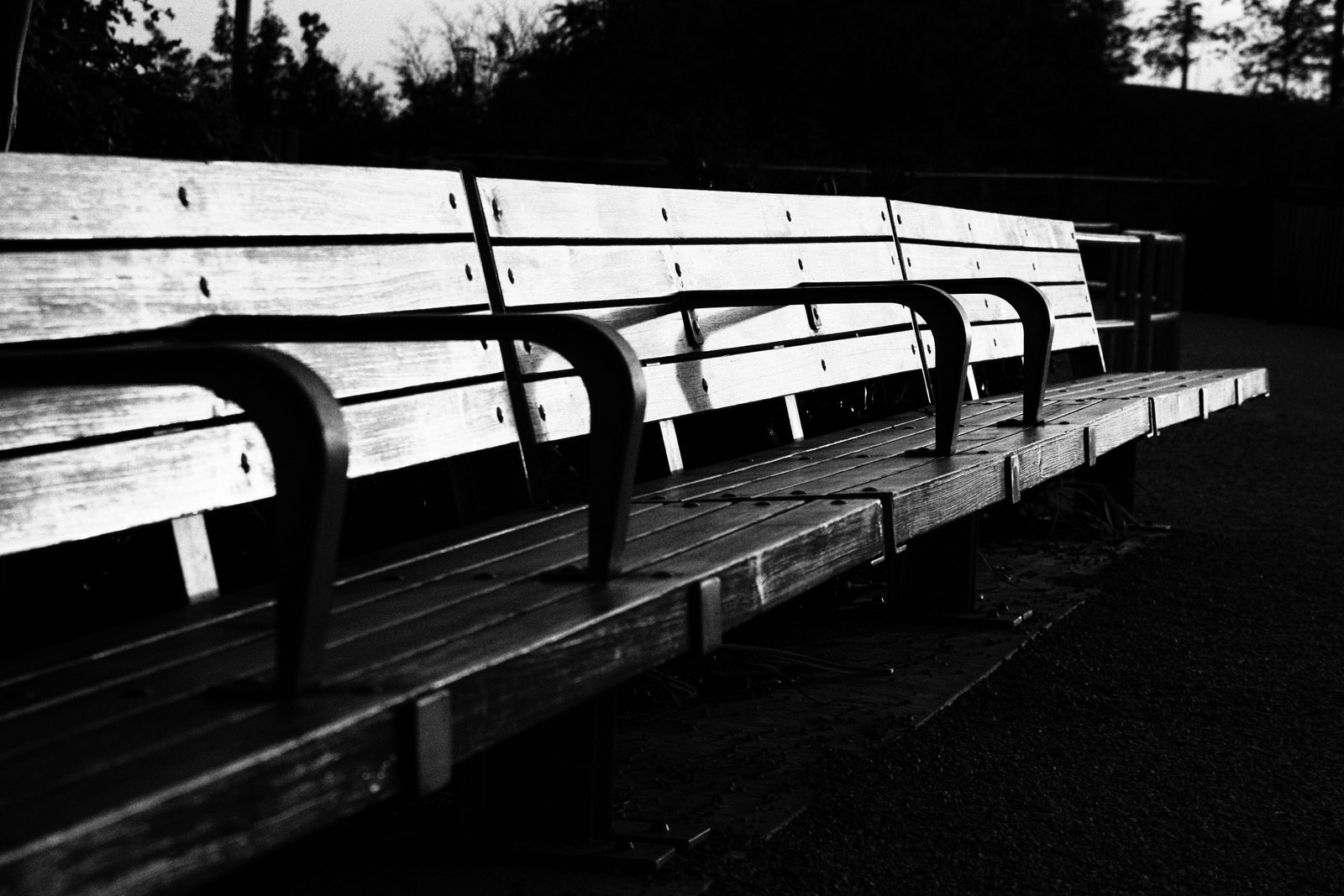 Photograph Brooklyn bench by Arnaud  on 500px