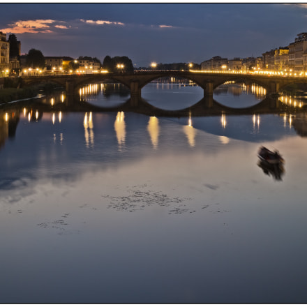 River Arno from St, Canon EOS M, Canon EF-M 18-55mm f/3.5-5.6 IS STM