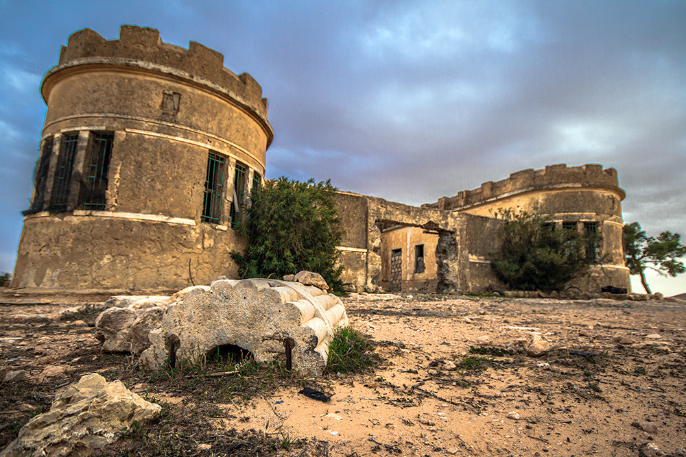 Photograph Rodolfo Graziani's Palace in Gharyan-Libya by Abdulhadi Baryoun on 500px