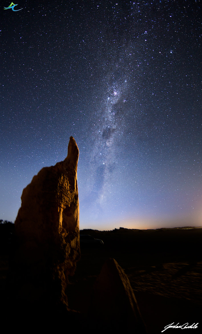 Photograph Milky Way of the Pinnacles by Jordan  Cantelo on 500px