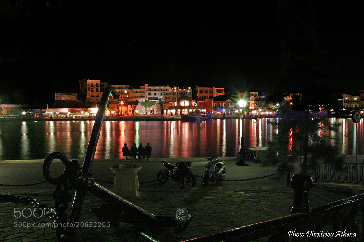 Photograph Chania by night!! by Athena Dimitriou on 500px