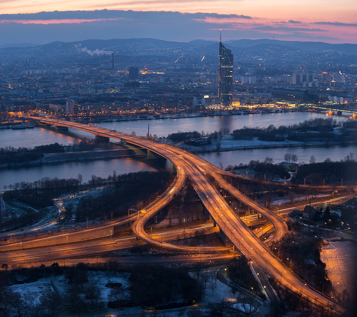 Photograph Vienna X-Roads by Marc Graf on 500px