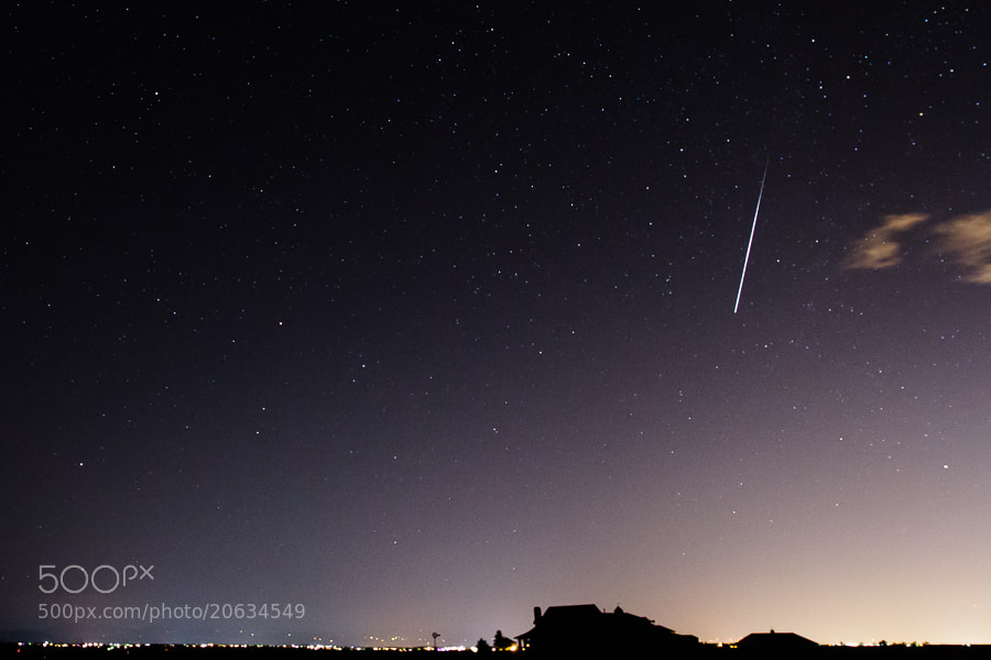 Photograph .: Geminid Meteor :. by Jon Rista on 500px