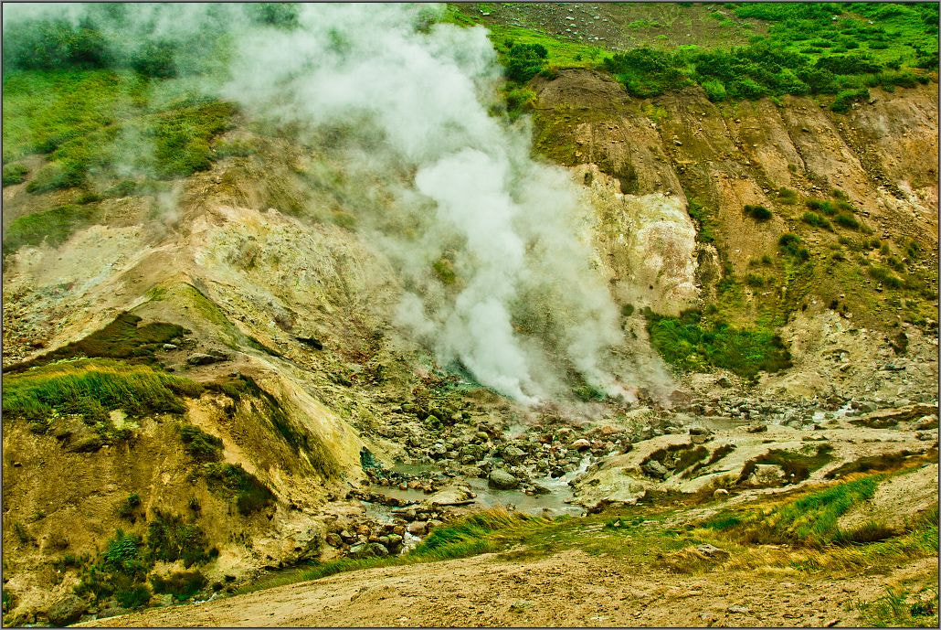 Photograph Geysers near Mutnovsky volcano by Gino Munnich on 500px