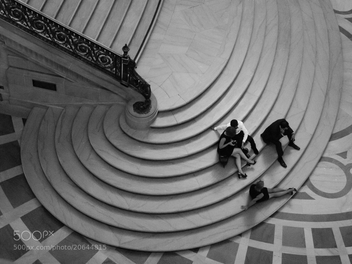 Photograph CIty Hall Stairs by Adam Griffith on 500px