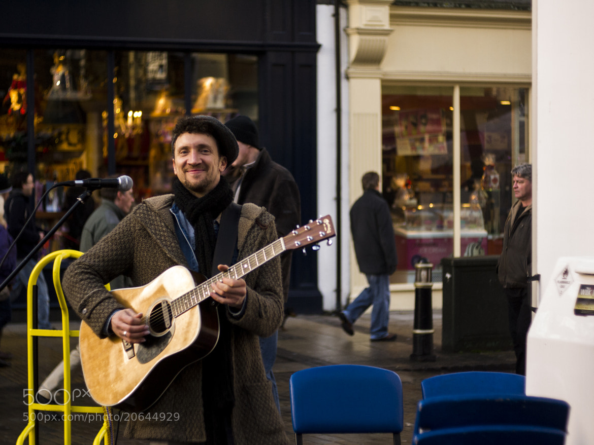 Photograph Busker by Rob Searle on 500px