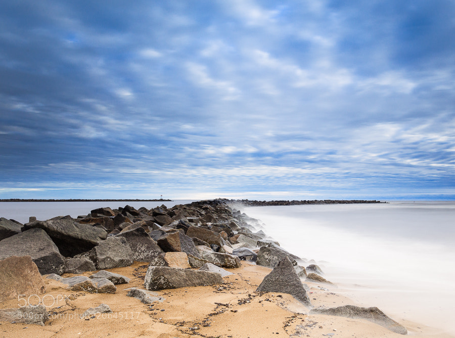 Photograph Morning on the South Jetty, Plum Island, Massachusetts by Stanton Champion on 500px