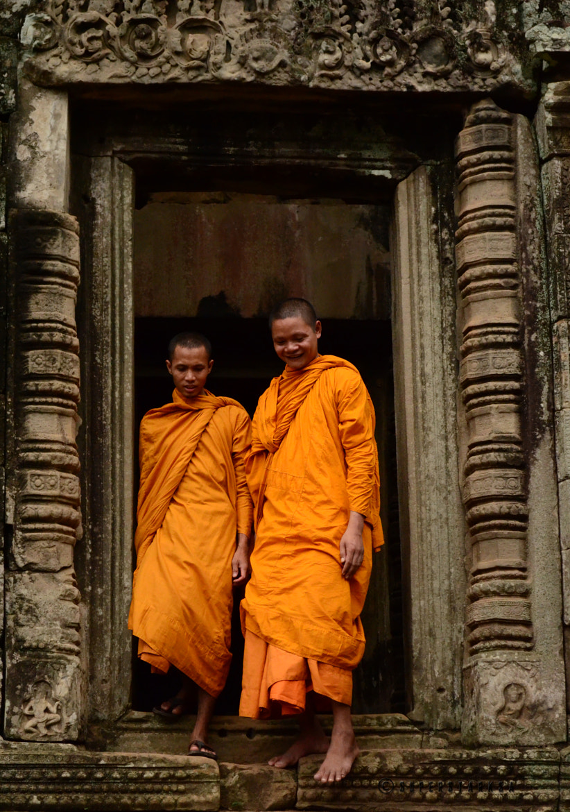 Photograph Cambodian Buddhist monks by Ananthanarayanan Subramanian on 500px