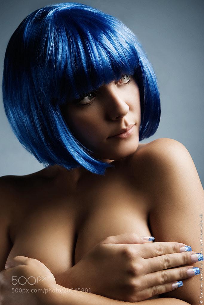 Photograph Blue Hair by Carsten Breschel on 500px