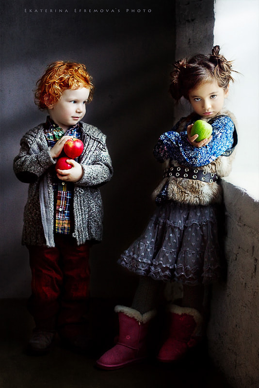 Photograph A story about apples by Ekaterina Efremova on 500px