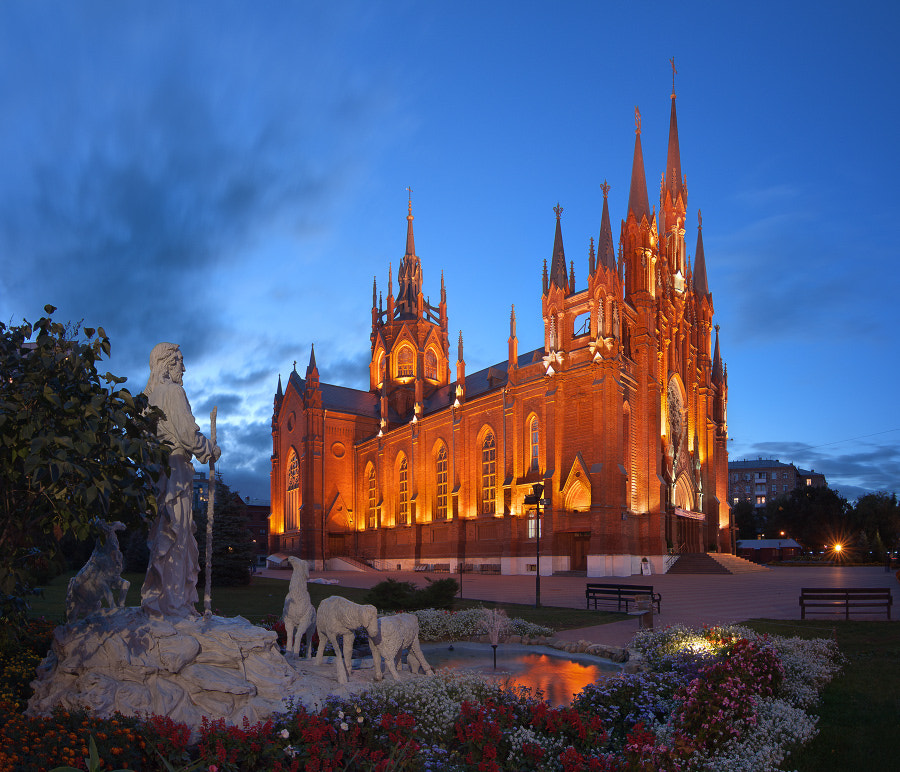 Photograph The Roman-Catholic Cathedral of the Immaculate Conception of the Holy Virgin Mary  by Andrey Ulyashev on 500px