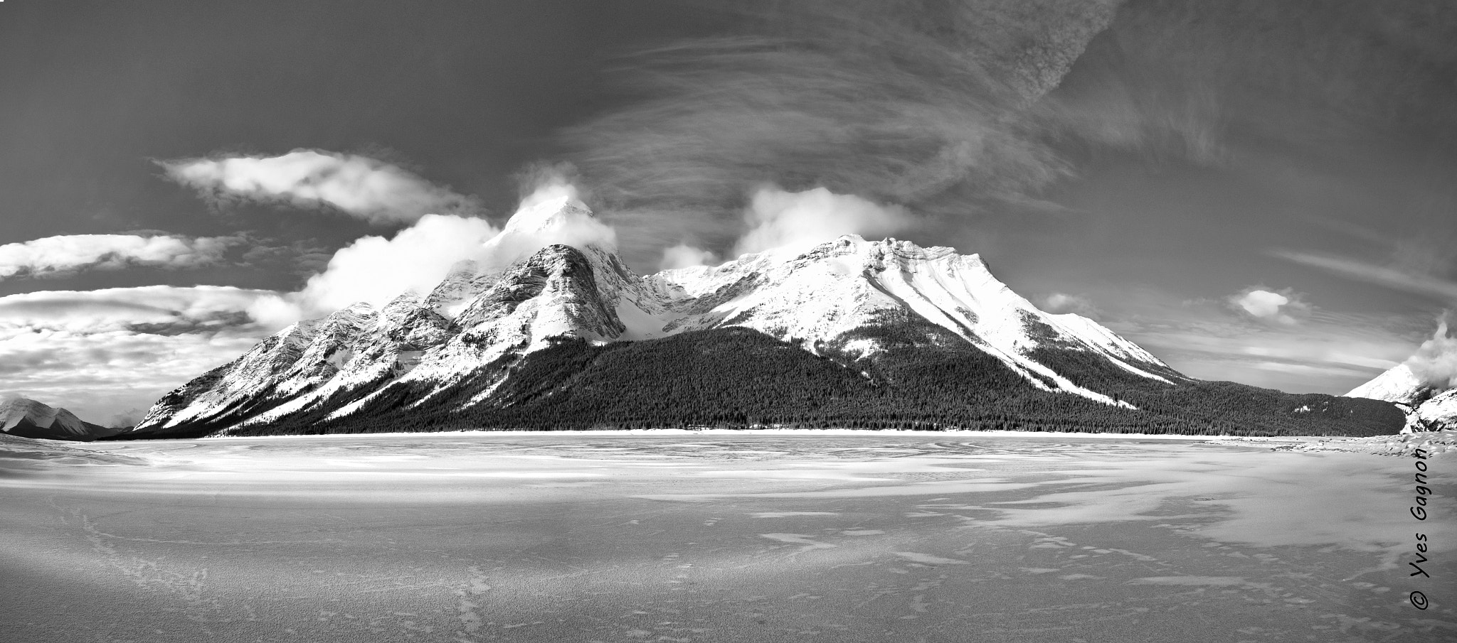 Photograph Panorama of the Rockies  by Yves Gagnon on 500px