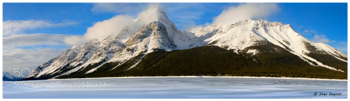 Photograph Panorama # 2 of the Canadian Rockies by Yves Gagnon on 500px