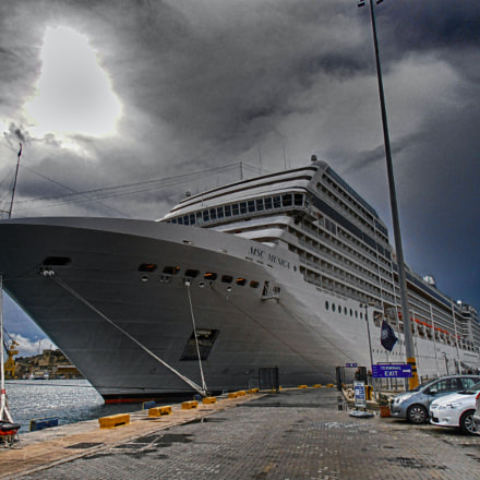 MSC Musica at the Port of Valetta