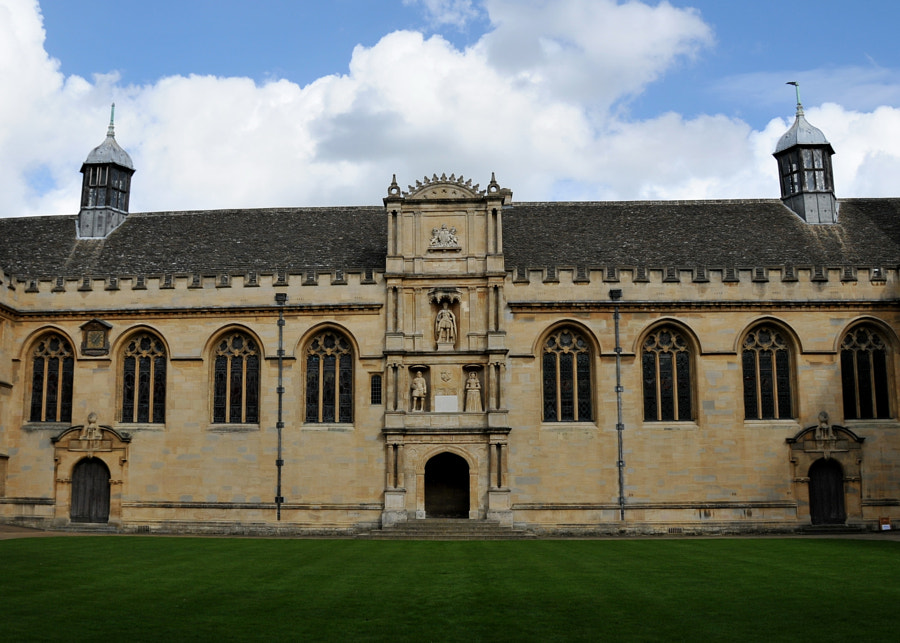 Wadham College Chapel, Oxford, UK by Sandra on 500px.com