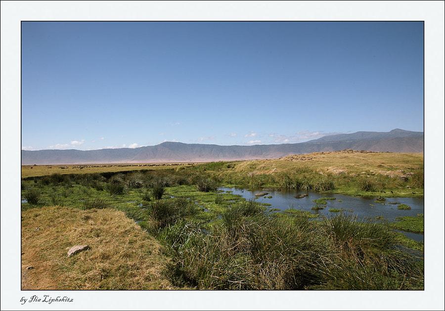 Ngorongoro landscape ...