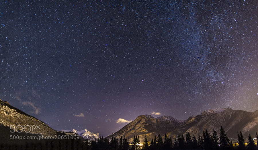 Milky Way over Rockies by Richard Gottardo (RichardGottardo)) on 500px.com