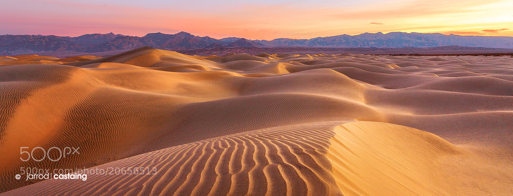 Photograph Death Valley Dunes by Jarrod Castaing on 500px