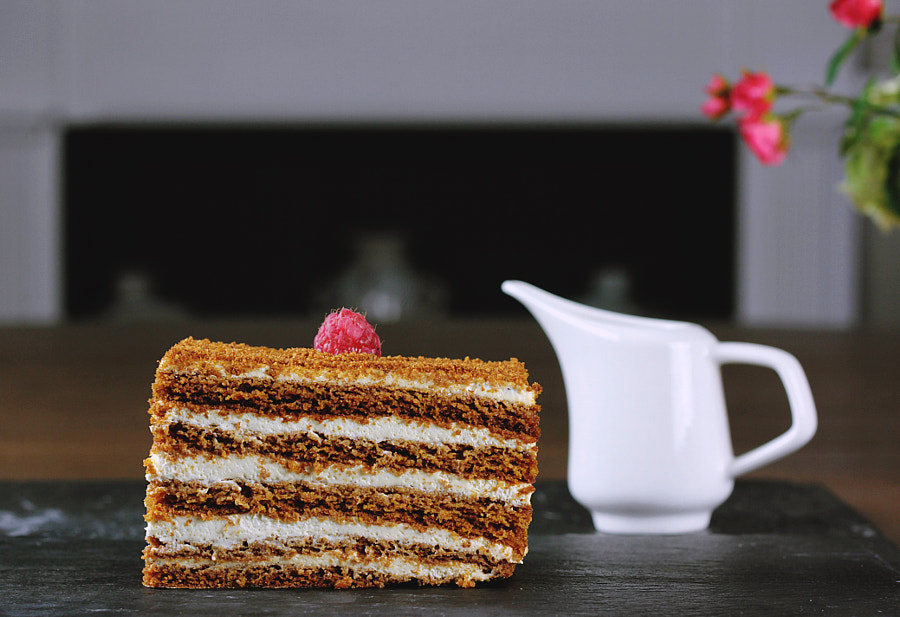Honey Cake by Toa Heftiba on 500px.com