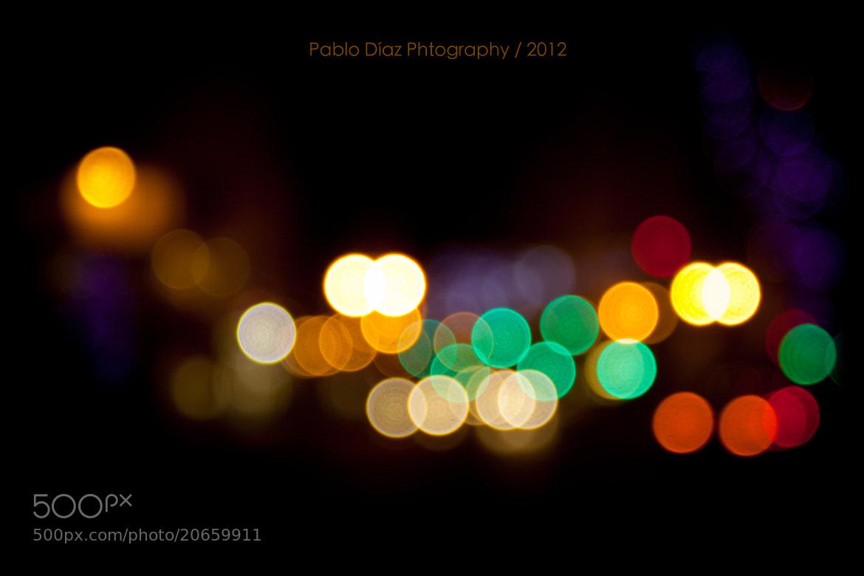 Photograph Lights of Santander by Pablo Díaz on 500px