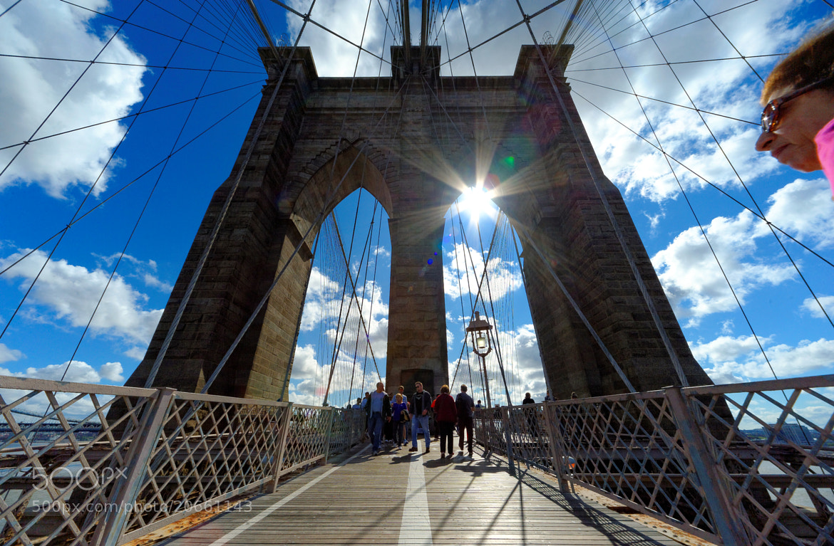 Photograph The Brooklyn Bridge, National Historic Landmark by Michael FRANCHITTI on 500px
