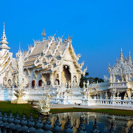 Temple blanc (Wat Rong Khun)