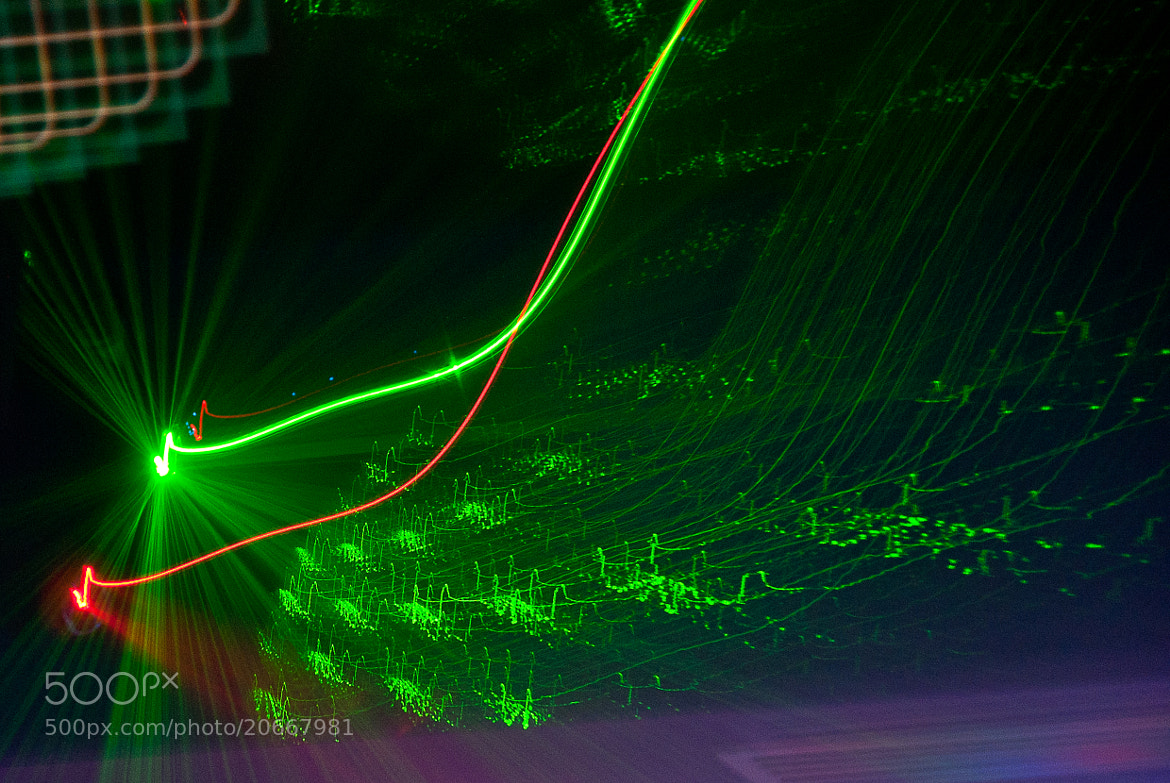 Photograph green light by nassar milad on 500px