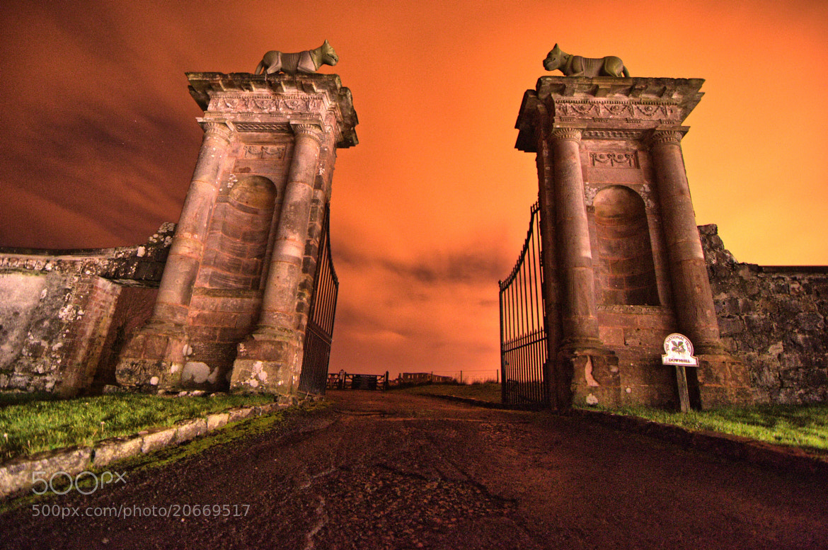 Photograph the lions gates Downhill co;Derry by Owen Anderson on 500px