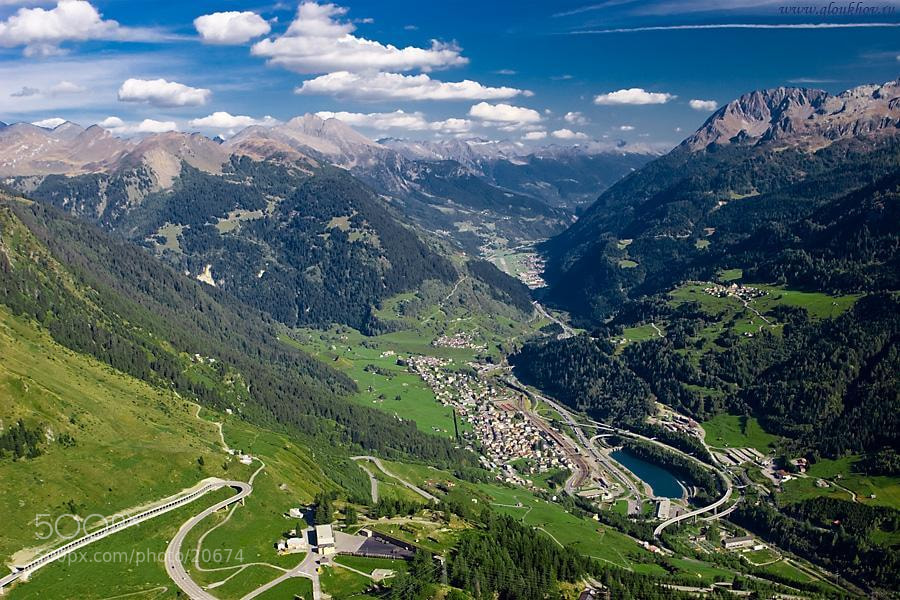 photograph airolo from st gotthard pass by vladimir. Black Bedroom Furniture Sets. Home Design Ideas