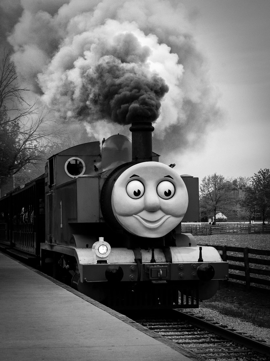 Photograph Thomas the Train by Steven Wosina on 500px