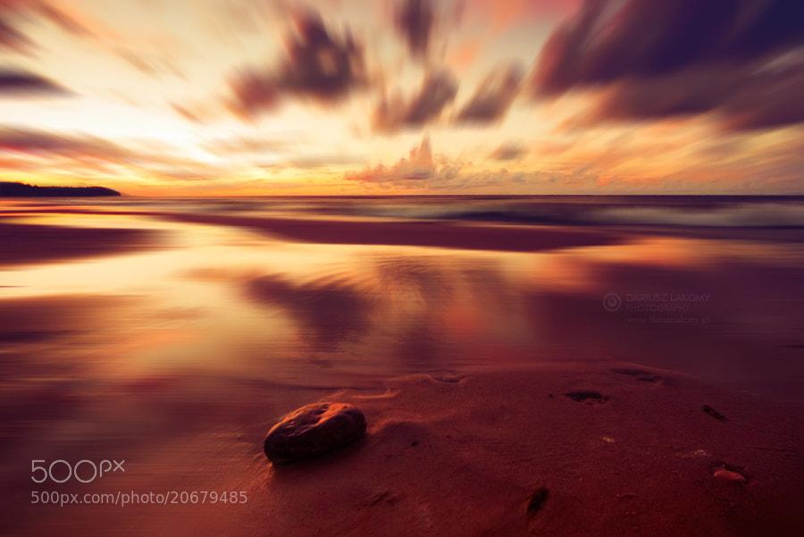 Photograph Golden sunset by Dariusz Łakomy on 500px