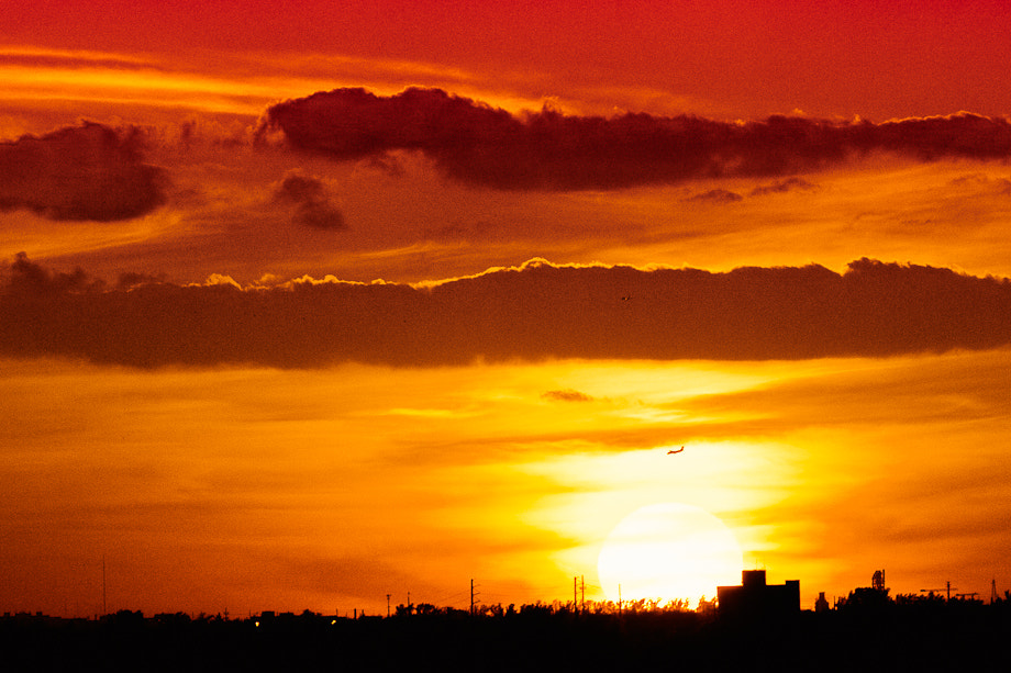 Photograph In Through the Sunset by  Gonzallini on 500px