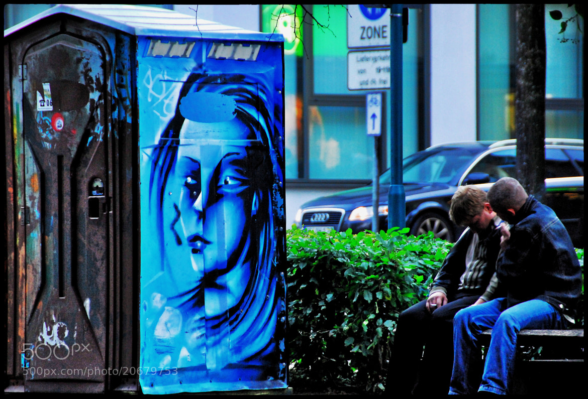 Photograph Blue Face by Michael Ramm on 500px