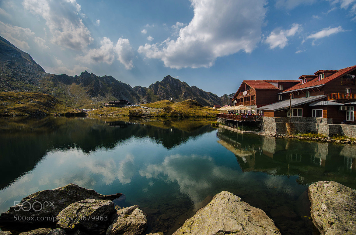 Photograph Balea lake by César Asensio Marco on 500px