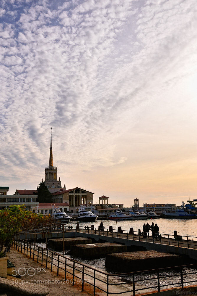 Photograph Sea Port of Sochi by Michael Babakov on 500px