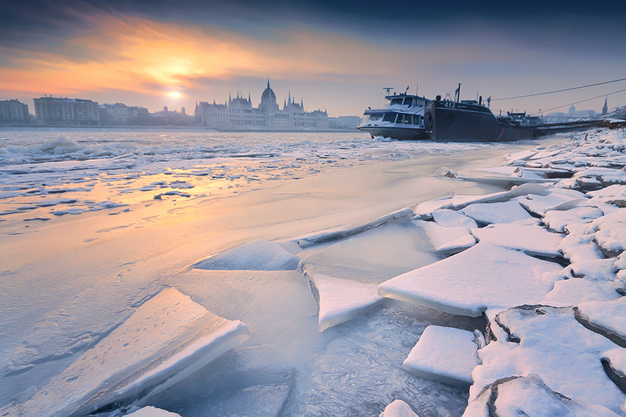 Photograph cold morning sun by Adam Dobrovits on 500px