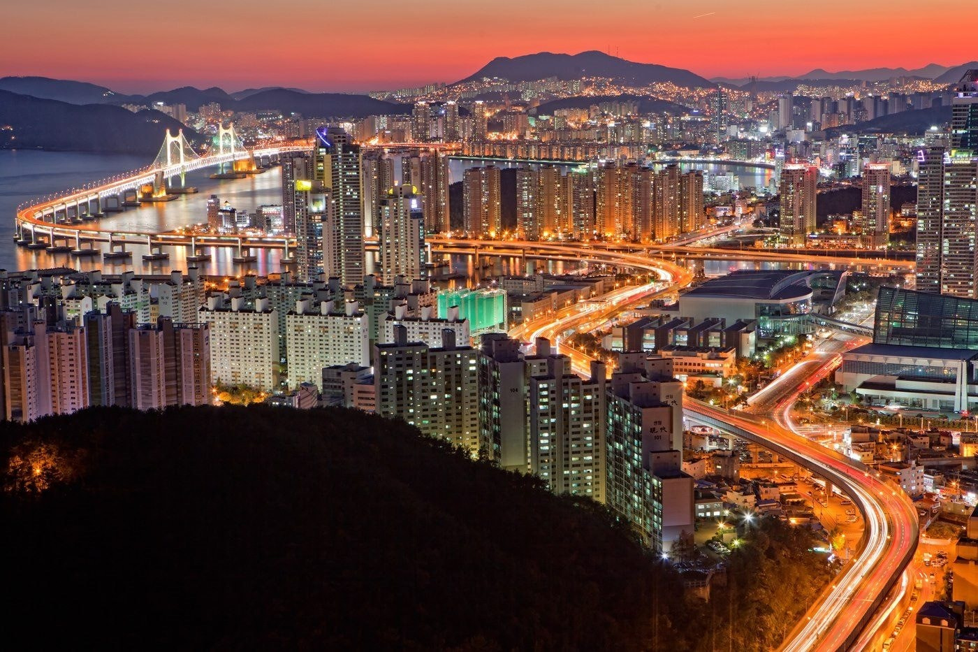 Photograph Nightview in Busan by Sky Choi on 500px