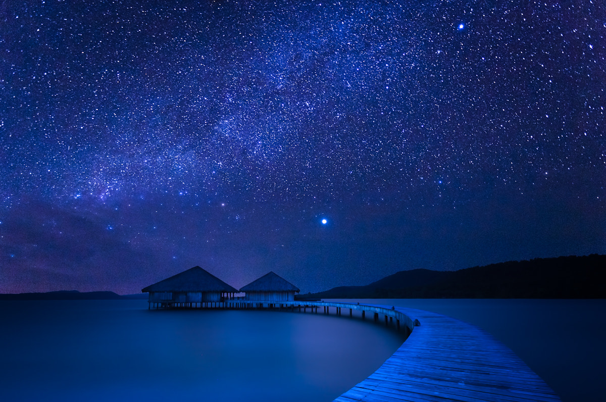 Photograph Blue Night by La Mo on 500px