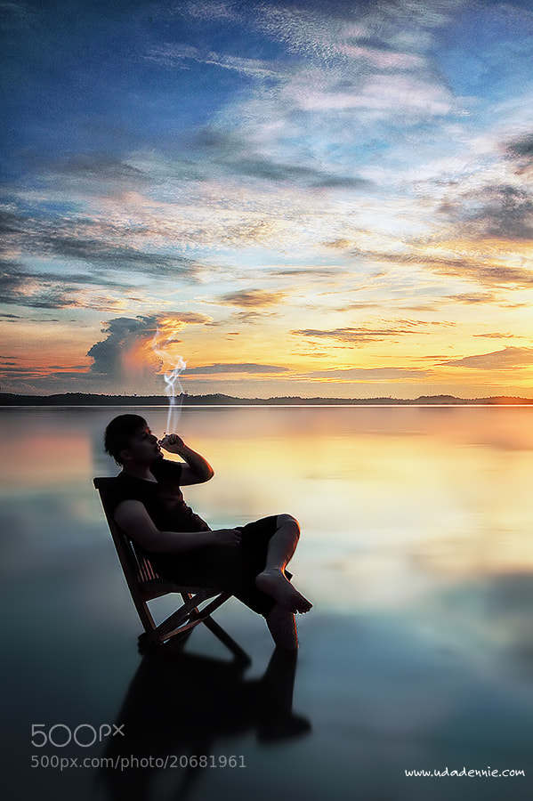 Photograph Smoker in nature by Uda Dennie on 500px