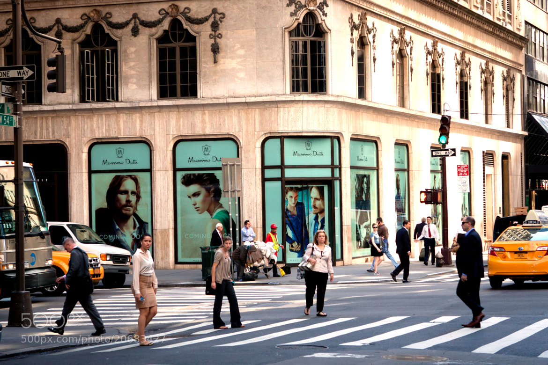 Photograph Walking New York by Alexander Friedrich on 500px
