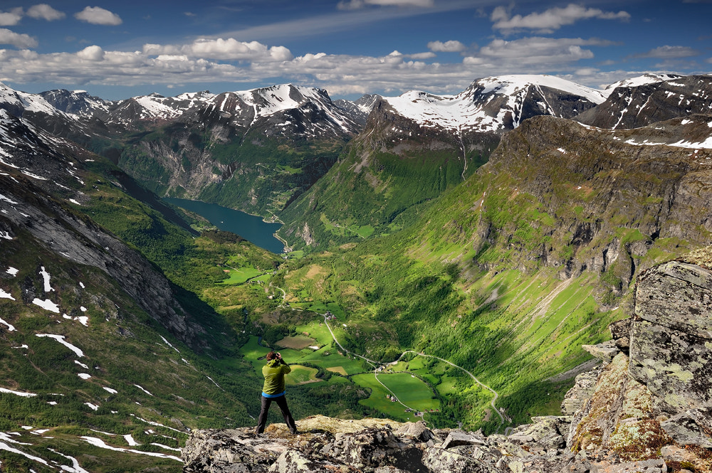 Photograph View from Dalsnibba... by Pawel Kucharski on 500px