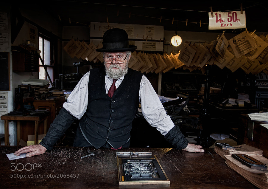 Photograph The Victorian Printer by Phil  Morgan on 500px