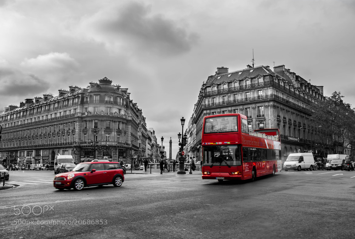 Photograph Red transport of Paris by Tatiana K on 500px