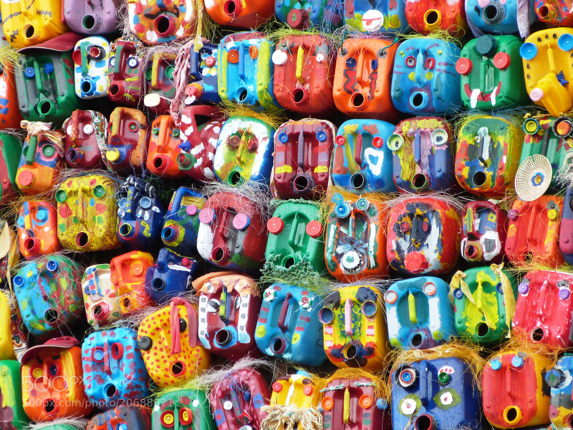 Photograph Coloured tins by Gilles Gouin on 500px