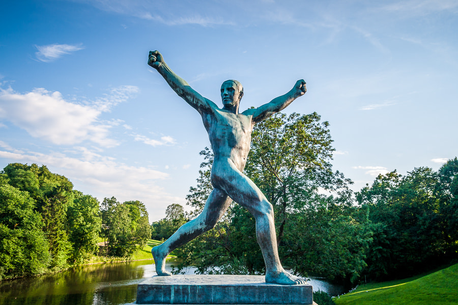 Photograph Vigeland (I) by Jose Agudo on 500px