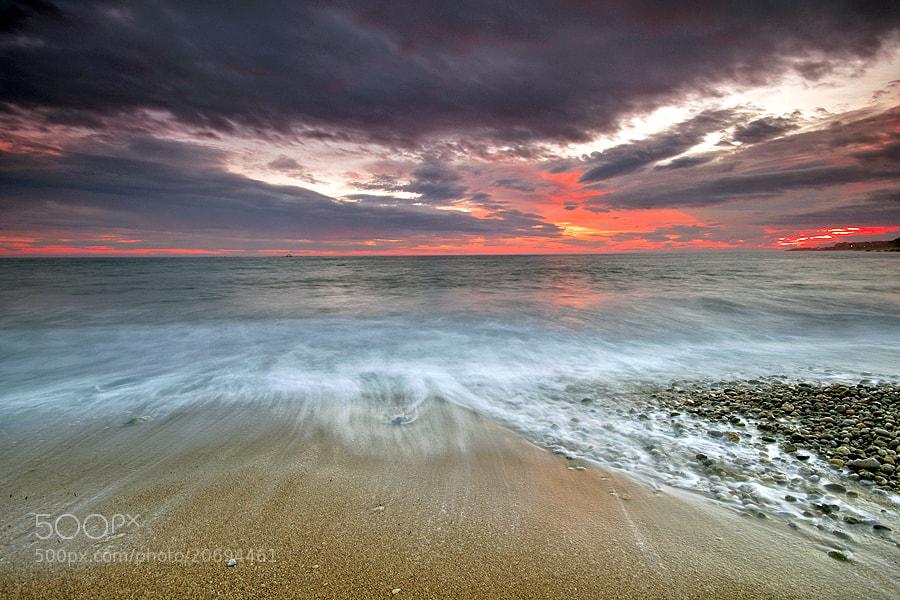 Photograph sunset colors by Natalia martinez calvente on 500px