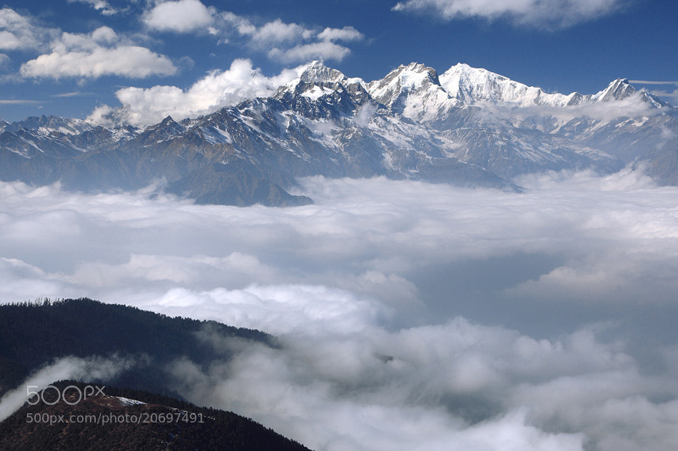Photograph Ganesh Himal. by Dementievskiy Ivan on 500px